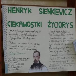 Wielki Konkurs Wiedzy O Henryku Sienkiewiczu Szkoła Podstawowa Im